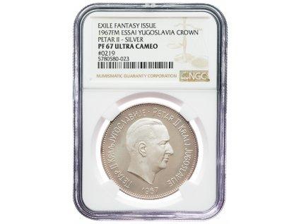 9147 jugoslavie medaile 1967 ngc pf67 ultra cameo