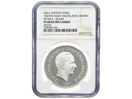 9150 jugoslavie medaile 1967 ngc pf68 ultra cameo