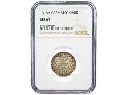 9189 1 marka 1915 a ngc ms67