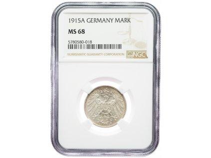 9192 1 marka 1915 a ngc ms68