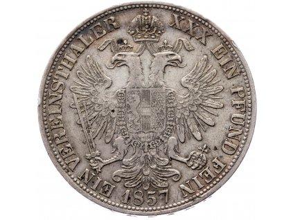 Spolkový tolar 1857 A