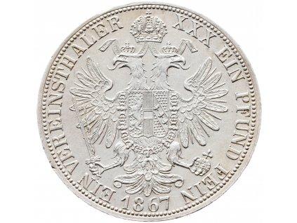 Spolkový tolar 1867 A