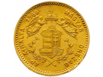 Andělíčkový Dukát 1869 GYF