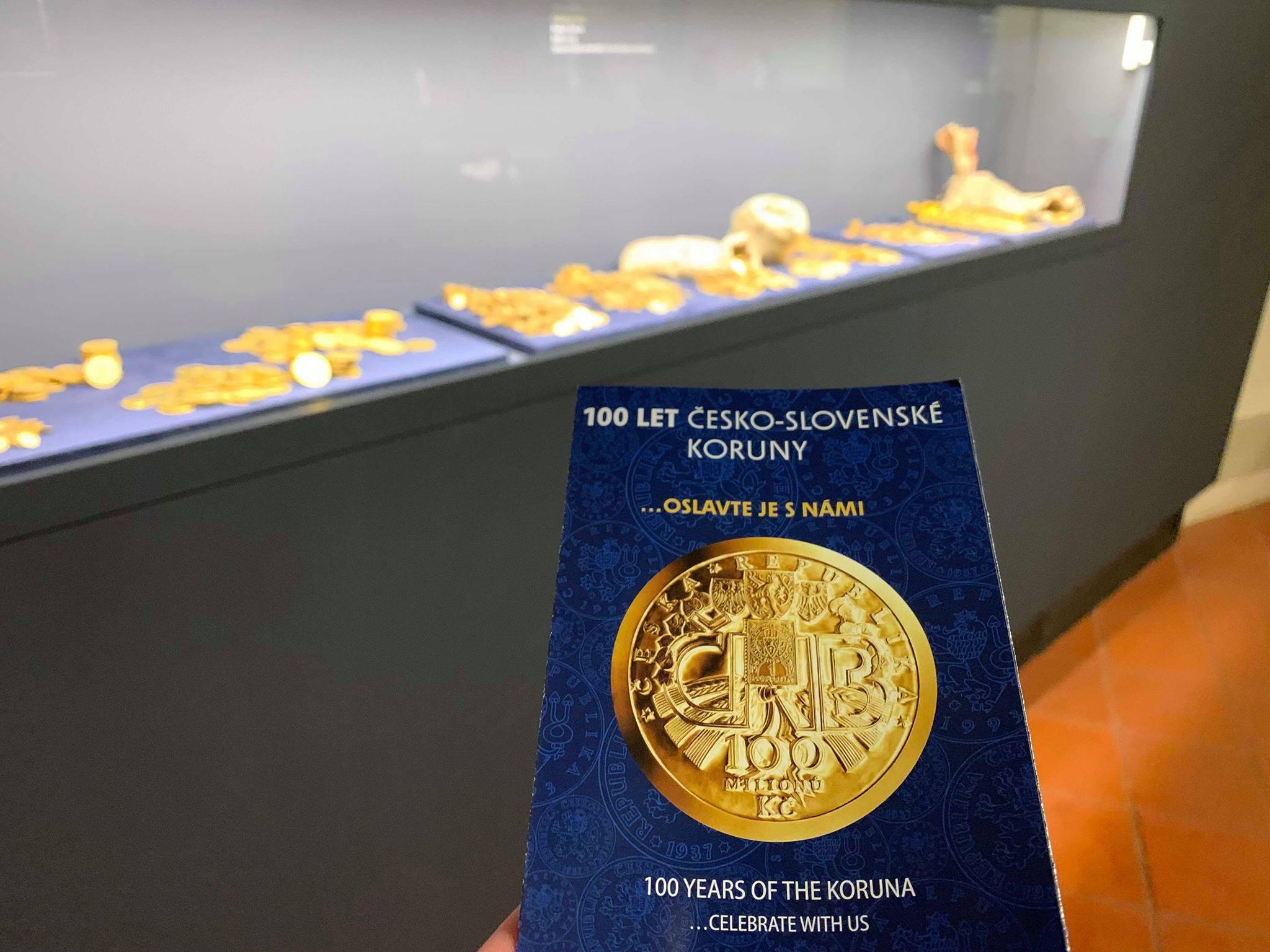Navštívili jsme výstavu 100 let česko-slovenské koruny