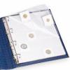 Albové listy na kartonové mincovní rámečky