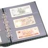 Albové listy na bankovky, certifikáty, pohledy a pod.