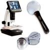 Lupy a mikroskopy na mince a medaile