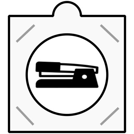 Sešívací mincovní rámečky
