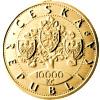 Zlaté pamětní mince České republiky