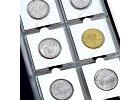Mincovní rámečky - kartónové rámečky na mince