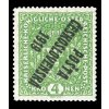 nejvzacnejsi ceskoslovenska znamka zelena 4 Kronen prevraceny pretisk posta ceskoslovenska 1919