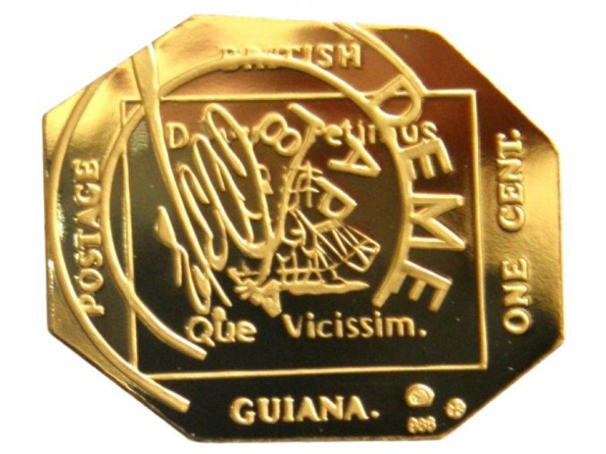 Zlatá známka Britská Guayana