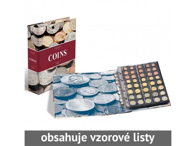 desky optima coins album na mince 5 vzorovych listu leuchtturm 340920 lighthouse