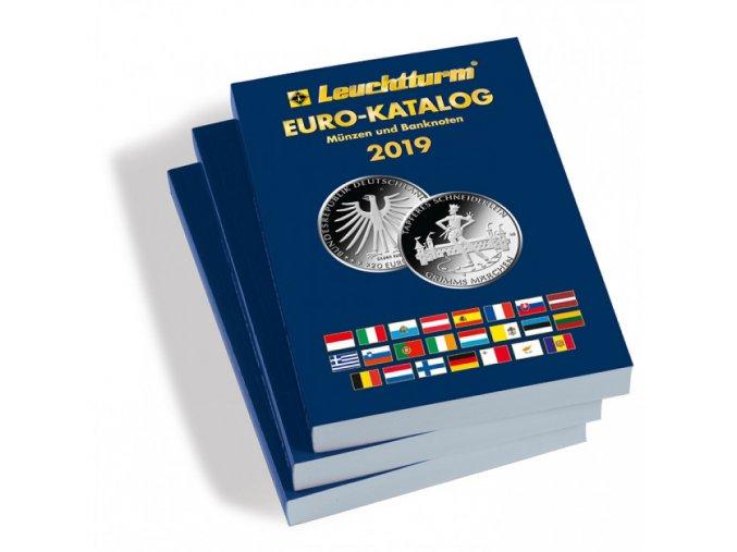 katalog euro minci bankovek 2019 catalogue euro coins and banknotes leuchtturm 359320