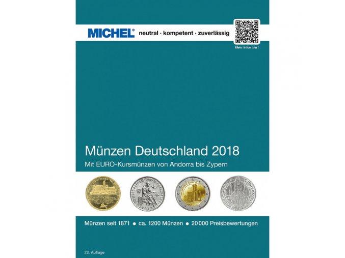michel katalog cenik nemecke mince nemecko 2018 munzen katalog deutschland michel 358834