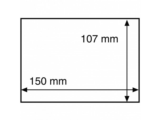 ochranny obal na certifikaty cnb karty pohledy dopisy bankovky do rozmeru 150x107 mm leuchtturm 313007 lighthouse
