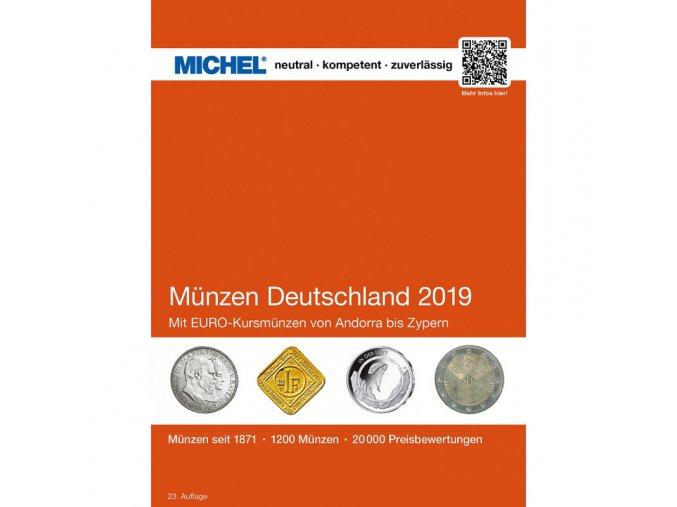 michel katalog cenik nemecke mince nemecko 2019 munzen katalog deutschland michel leuchtturm 360843