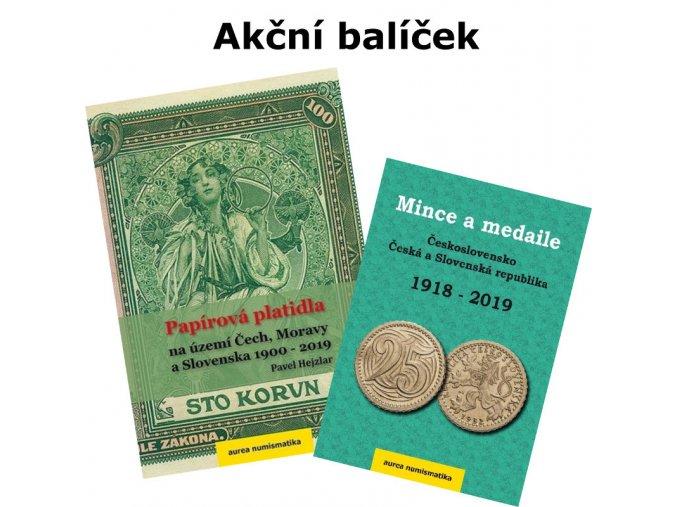 aktualni ceny bankovky mince ceske slovenske katalog cenik 2019 akcni balicek
