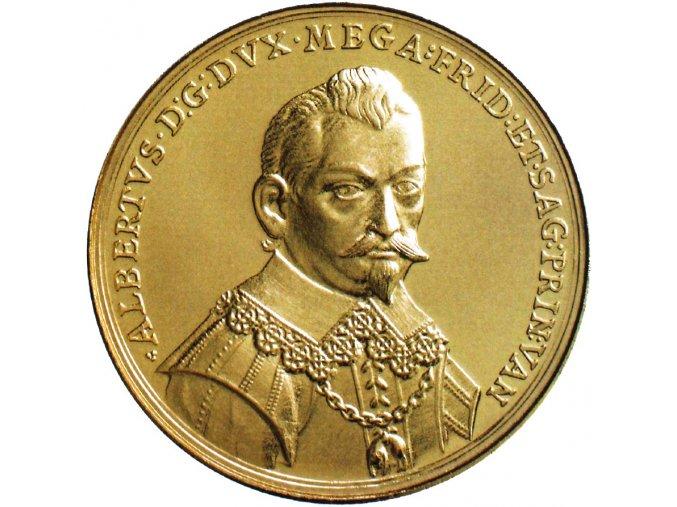 zlata medaile albrecht valdstejn 1934 2017 au 300 vyroci zavrazdeni