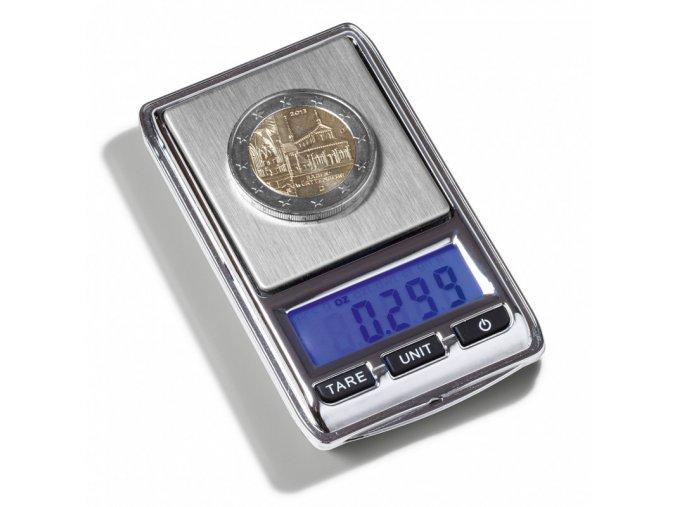 digitalni vaha libra mini 100 kapesni presna vaha na mince do 100g leuchtturm 344222 lighthouse