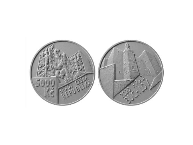 zlata mince hrad buchlov