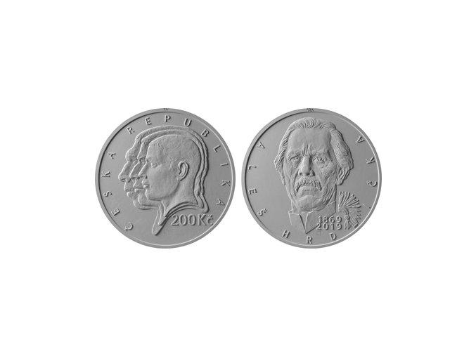 ČNB mince Hrdlička