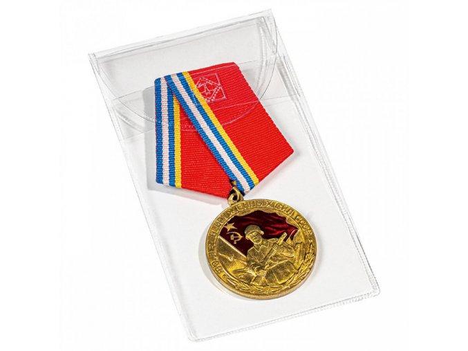 uzaviratelne plastove kapsy na medaile cestne rady mince listky do 50x100 mm folie bez zmekcovadel leuchtturm 364998 lighthouse