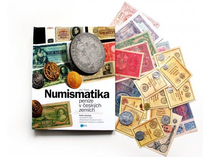 kniha numismatika penize v ceskych zemich nolc 2017 edika ean 9788026611356 prilohy