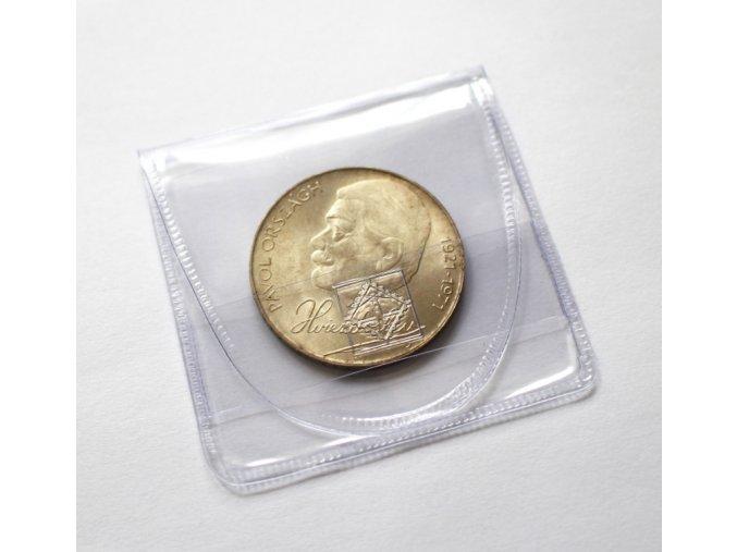 uzaviratelne plastove kapsy na mince pruhledne pvc folie bez zmekcovadel leuchtturm 316503 lighthouse