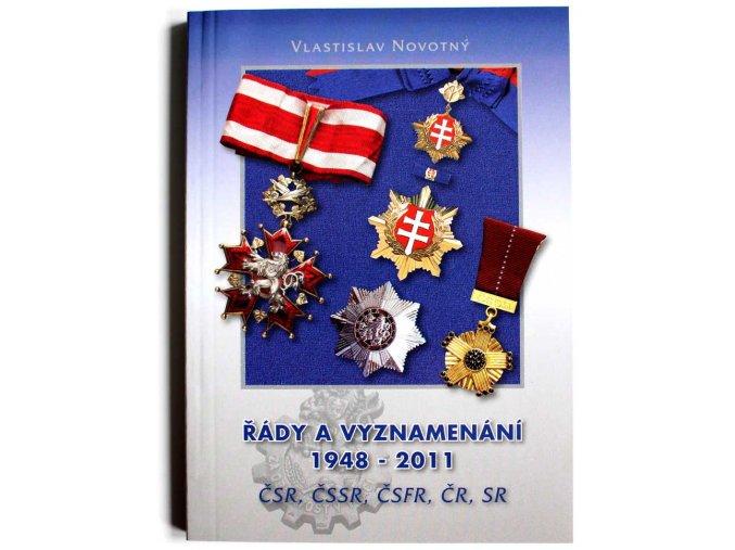 katalog kniha rady a vyznamenani 1948 2011 csr cssr csfr cr sr novotny 2011 vyznamenani ceskoslovensko rady