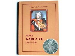 katalog mince karla vi 1711 1740 novotny 2002 kniha karel sesty penize