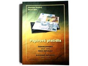 katalog papirova platidla csr 1918 1993 cr a sr 1993 2014 novotny klim 2014 kniha papirova platidla ceskoslovensko