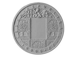 Záloha 2019 5000 Kč Zlatá pamětní mince Zavedení československé měny STANDARD (31.107 g, 0.9999 Au) model lic