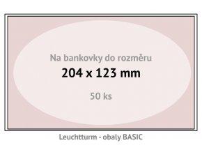 basic 204 kapsy na bankovky 204x123mm ochranne pouzdra obaly na papirove penize leuchtturm 341222