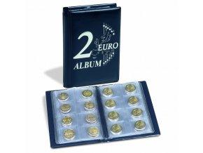kapesni album pro 48 ks dvoueurovych 2 euro mince route leuchtturm 350454 lighthouse