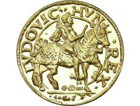 zlato medaile ludvik ii ludovit replika kosicky zlaty poklad au