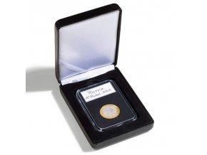 cerne etue nobile 1 slab mincovni kazeta krabicka na 1 hranatou kapsli everslab quickslab 59x85 mm leuchtturm 345868 lighthouse