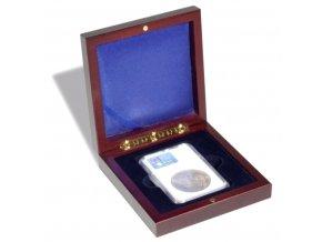 volterra 1 slab etue mincovni kazeta na zlaty slitek krabicka na 1 hranatou kapsli everslab quickslab ngc pcgs 63x85mm leuchtturm 326719 lighthouse