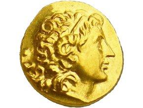 zlata replika mince lysimachos stater avers au kosicky zlaty poklad