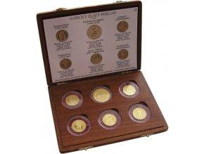 zlata kolekce repliky minci kosicky poklad au