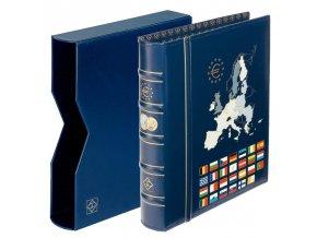 optima classic euro album s kazetou na euro mince vista album kazeta leuchtturm 341306 lighthouse