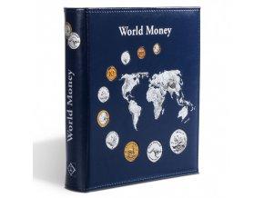 album numis world collection modre kozenkove desky na mince bez kazety leuchtturm 324055 lighthouse