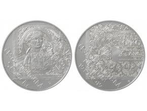 2019 500 kc stribrna pametni mince 100 vyroci zahajeni vydavani ceskoslovenskych platidel ag proof