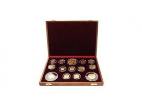 druha zlata sada mince prve csr novorazby navrhov ceskoslovenskych obehovych minci 1920 josef sejnosta 2017 kremnica