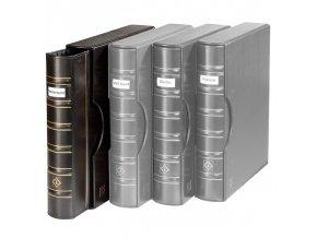 grande classic signum cerne album s okenkem na popisek s kazetou na bankovky mince pohledy dokumenty a4 leuchtturm 338605 lighthouse