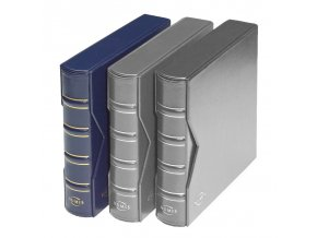 numis classic modre album na bankovky mince pohledy desky s kazetou numis leuchtturm 317360 lighthouse