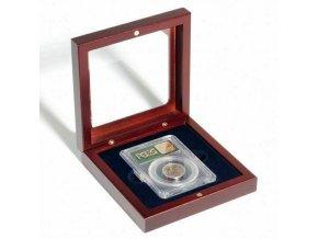 volterra 1 slab etue s pruhlednym okenkem mincovni kazeta se sklenenym vikem na zlaty slitek krabicka na 1 everslab quickslab ngc pcgs anacs leuchtturm 307925 lighthouse