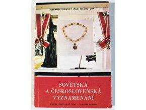 kniha sovetska a ceskoslovenska vyznamenani kolar snajdr 1975