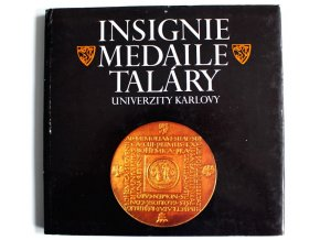 kniha insignie medaile talary univerzity karlovy 1987 havranek herber