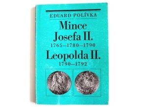 kniha mince josefa ii 1765 1780 1790 leopolda ii 1790 1792 polivka 1985 ceska numismaticka spolecnost